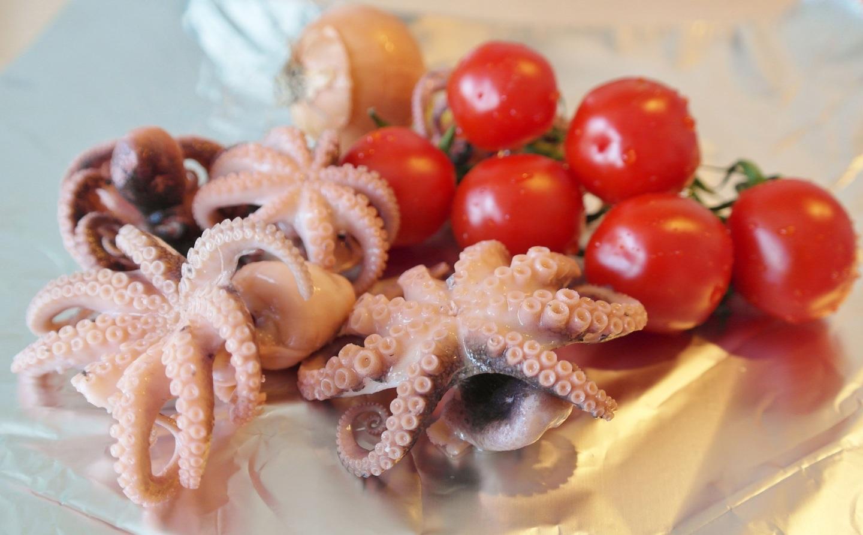 Frutos do mar: lula