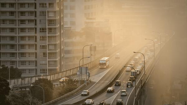 Inversão térmica é um fenômeno natural que potencializa a poluição