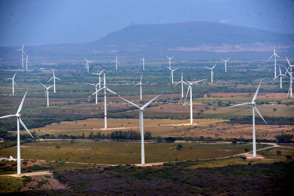 Energia eólica: parque eólico
