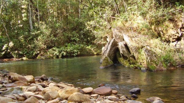Nascente é chamada a origem de um curso d'água