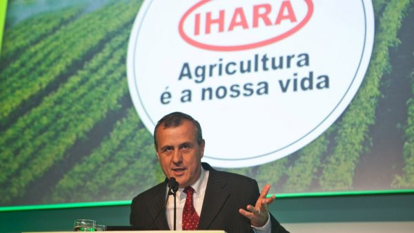 Ihara é indústria química japonesa que atua com defensivos agrícolas