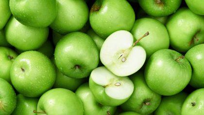 Maçã verde encanta por ser mais azedinha que as maçãs vermelhas
