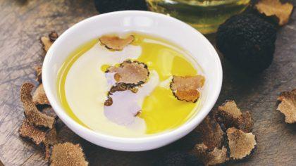 Azeite trufado é sinônimo de luxo e usado na alta gastronomia