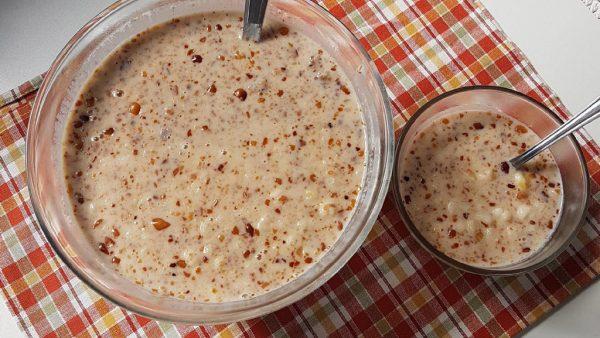 Canjica, receita feita com milho branco, é popular no Norte e Nordeste