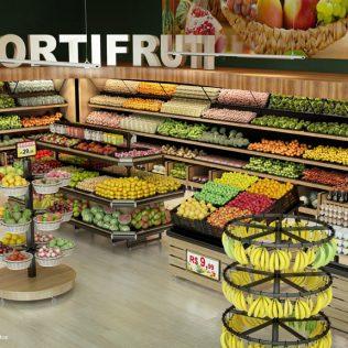 Hortifruti engloba frutas, legumes e verduras frescas