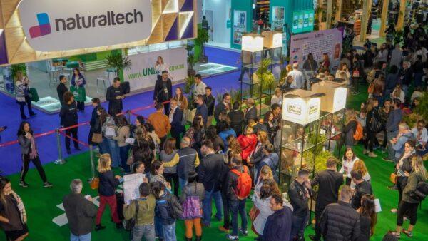Natural Tech é evento especializado em produtos e alimentação natural